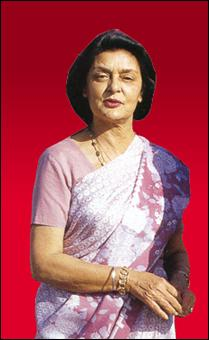 Her Higness the Rajmata of Jaipur
