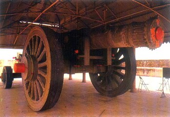 Jaivan (Victory Canon) is found in Jaigarh Fort. It is said to be largest moving canon in Asia.  This canon was never used in war and was fired only once. The canon is still worshiped on day of the