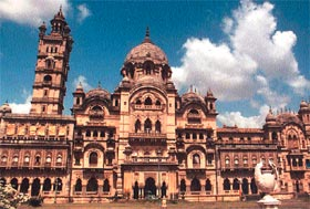 The Laxmi Vilas Palace of Baroda.  This is the childhood home of Maharani Indira Devi, the Rajmata's mother.